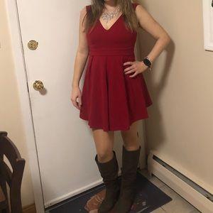 Haute monde Size small red dress